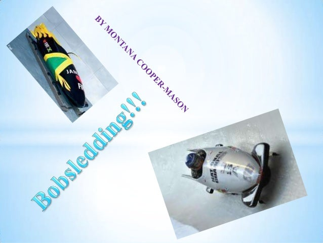 Bobsledding is a well known Olympicsport that has been around for morethan 500 years according to localCanadian citizen an...