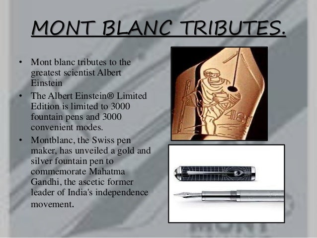 swot analysis of mont blanc Report on rolex uploaded by vision & business plan of rolex 2 30 corporate strategy 2 40 swot analysis 4 5 2002 tag heuer 1596 1511 montblanc 8 19 792 longines 773.