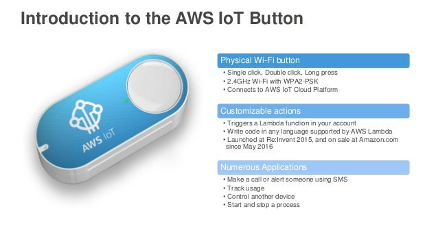 AWS re:Invent 2016: 1-Click Enterprise Innovation with the