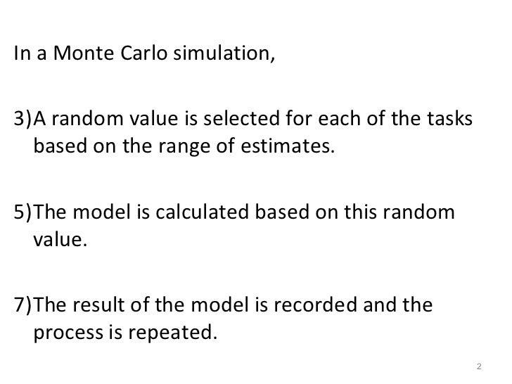 Monte Carlo Simulations