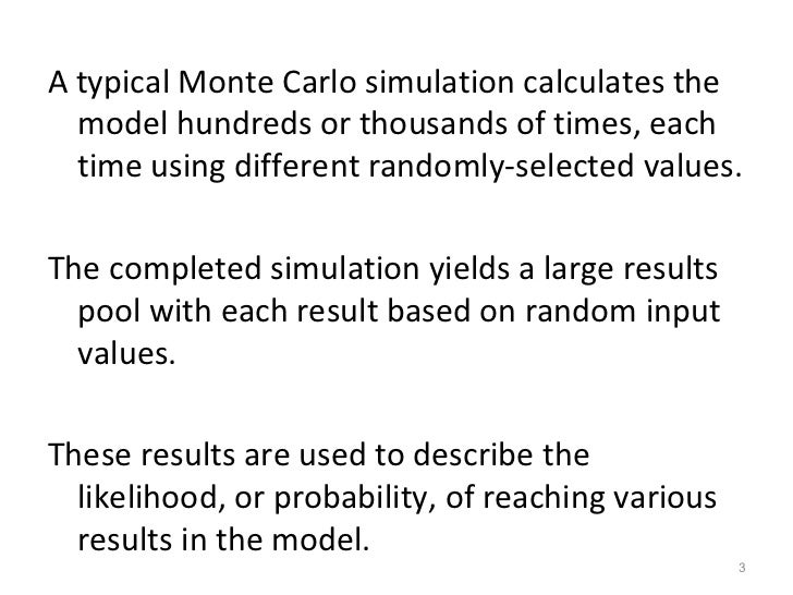 monte carlo simulation thesis Neutron flux and energy characterization of a  monte carlo simulation with verification by  this thesis is brought to you for free and open access by digital.