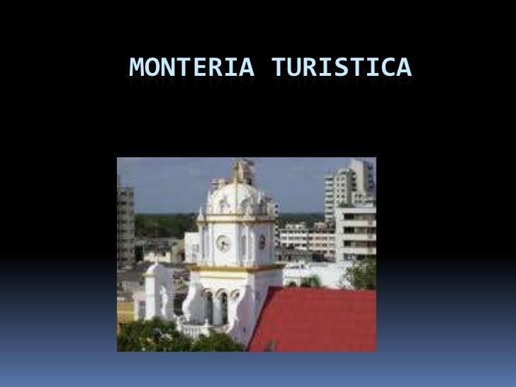 MONTERIA TURISTICA