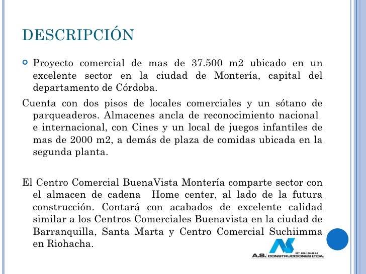 Monteria presentacion locales comerciales - Proyecto local comercial ...