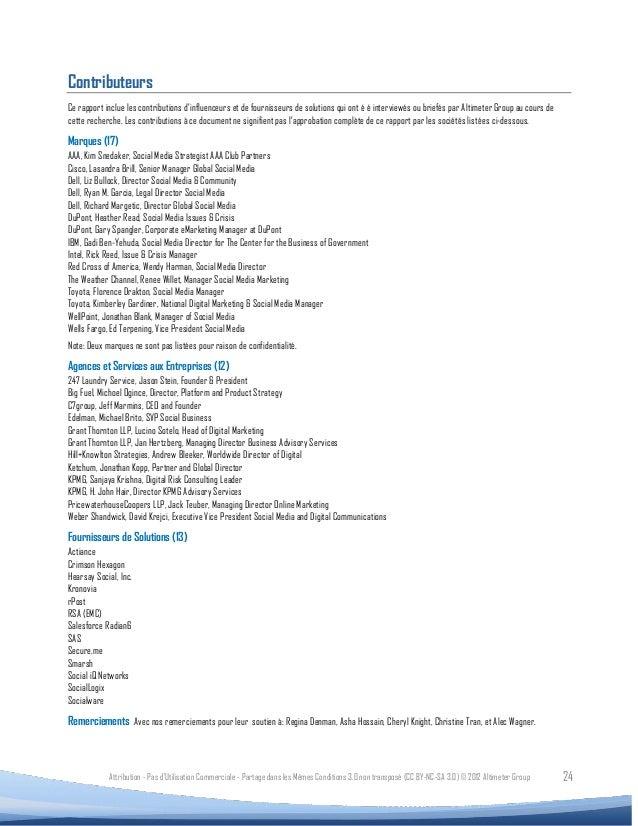 ContributeursCe rapport inclue les contributions d'influenceurs et de fournisseurs de solutions qui ont é é interviewés ou...