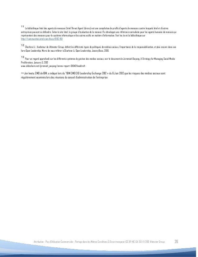 11     La bibliothèque Intel des agents de menaces (Intel Threat Agent Library) est une compilation de profils d'agents de...