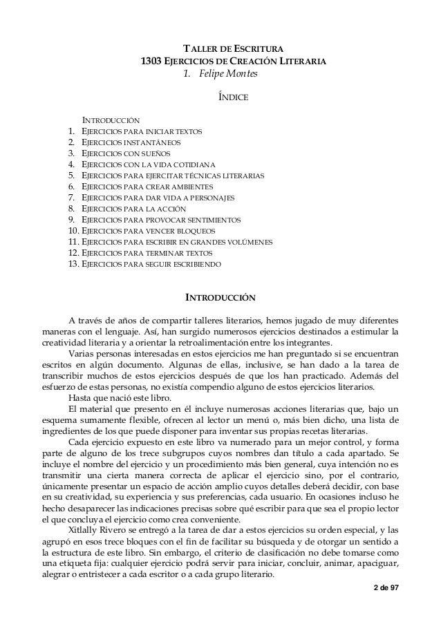 FELIPE MONTES TALLER DE ESCRITURA EPUB