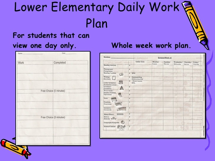 how to plan daily work