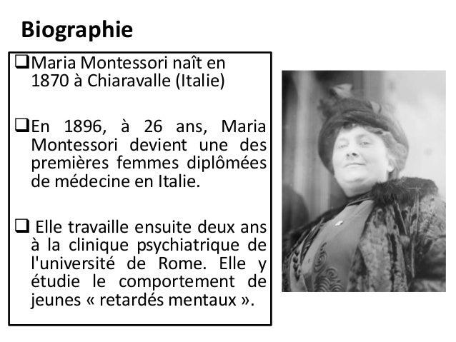 biographie maria - Maria Montessori Lebenslauf