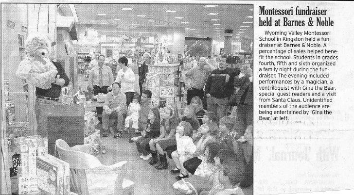 Montessori Fundraiser At Barnes And Noble0001