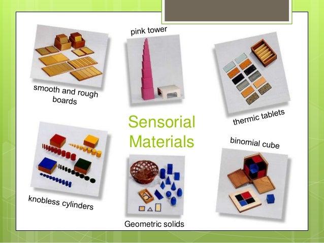 Sensorial Materials  Geometric solids