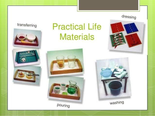 Practical Life Materials