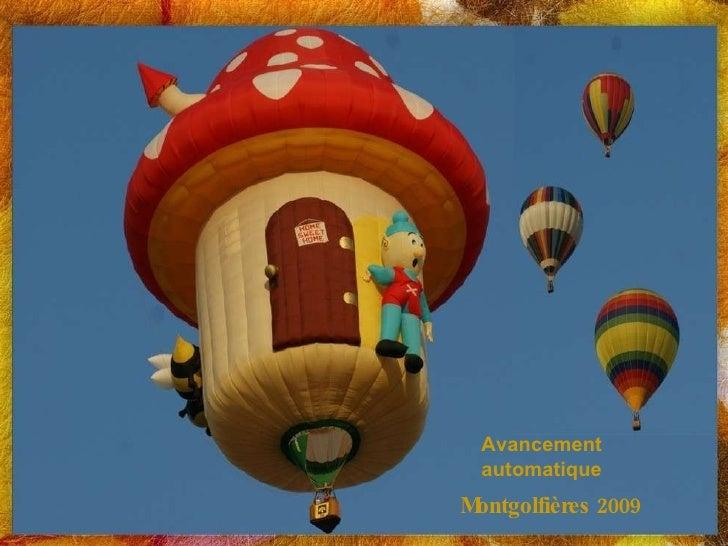Montgolfières 2009 Avancement automatique