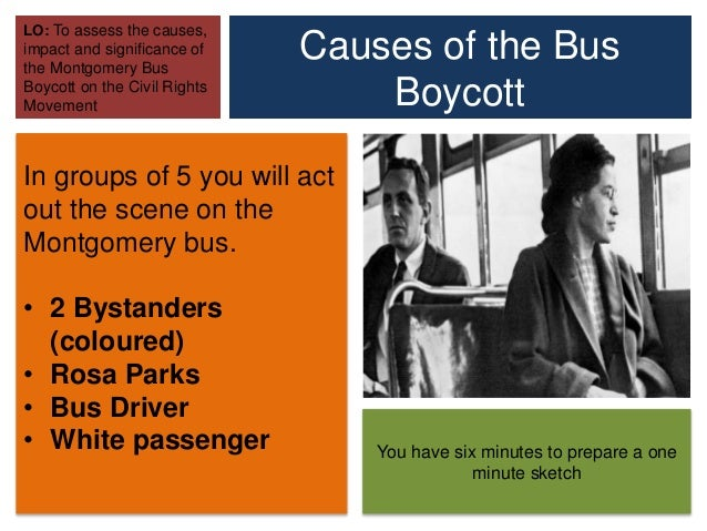 the impact of the montgomery bus boycott in the plight of african american civil rights