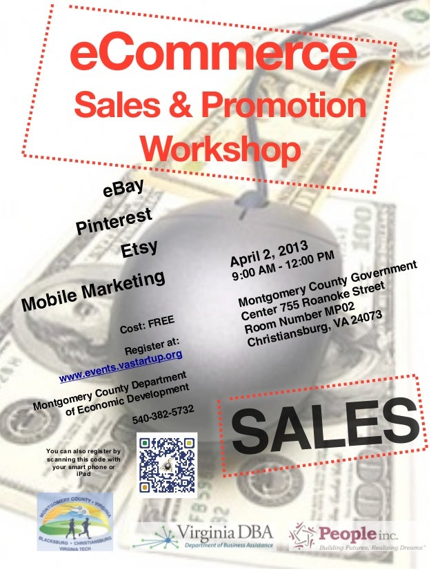 eCommerce           Sales & Promotion               Workshop                                   eBay                     t ...