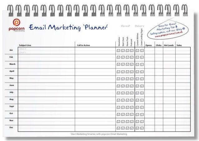 marketing planner template
