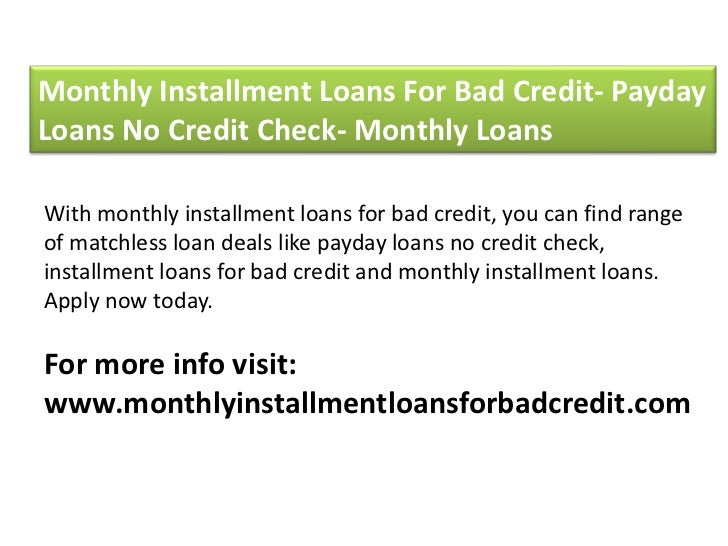 no credit check guaranteed installment loans direct lenders only