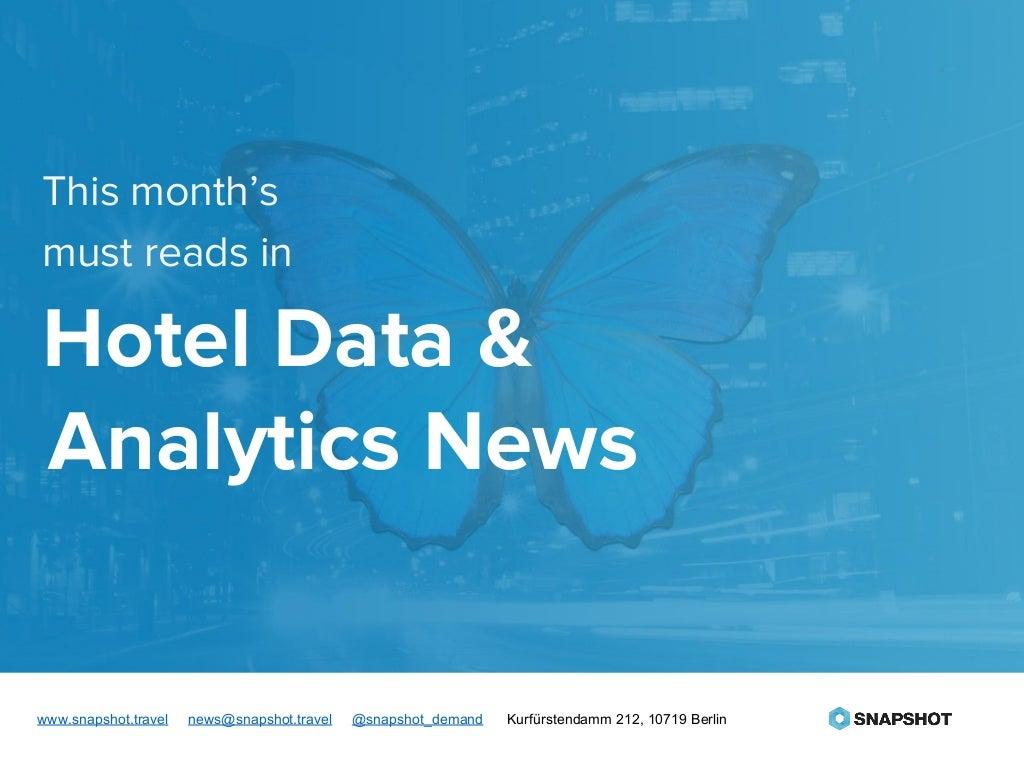 Hotel Data and Analytics News - Feb 2016