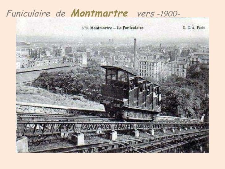 Funiculaire   de  Montmartre  vers  -1900-