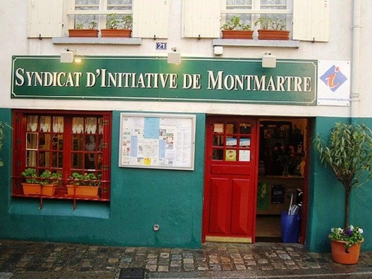 Montmartre présent et passé Slide 3