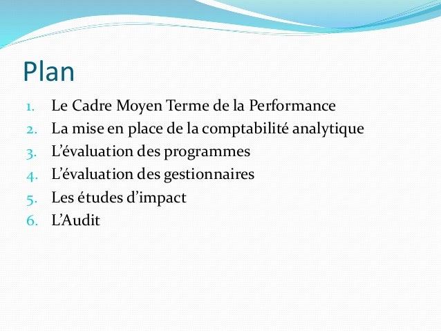 Suivi et Evaluation des Programmes Budgetaires Slide 2