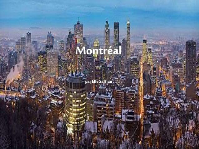 Montréal parElle Saffian