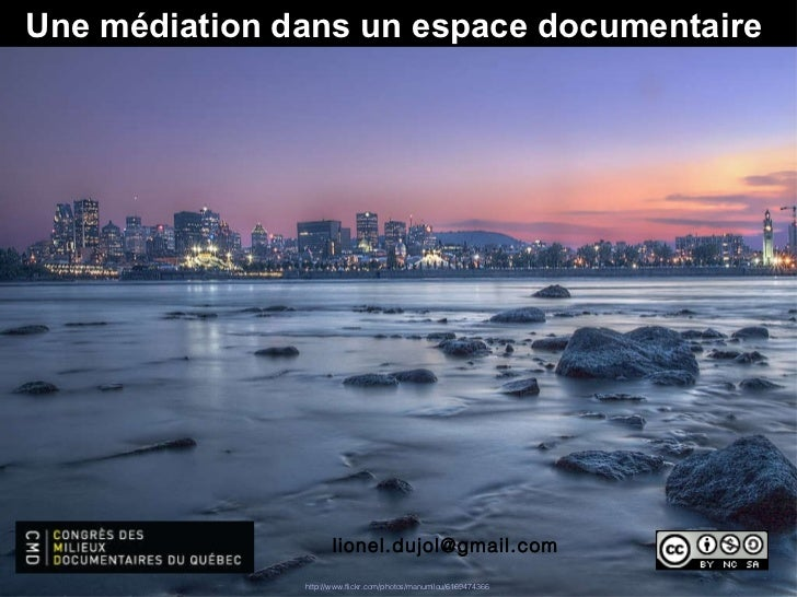 [email_address] Une médiation dans un espace documentaire  http:// www.flickr.com /photos/ manumilou /6169474366