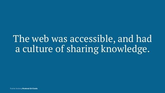 Montreal Girl Geeks: Building the Modern Web Slide 10