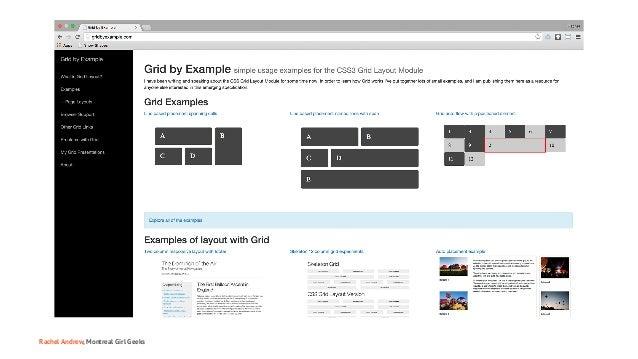 Montreal Girl Geeks: Building the Modern Web Slide 39