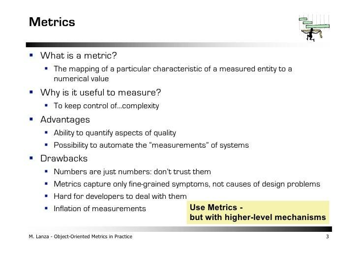 Object-Oriented Metrics in Practice Slide 3