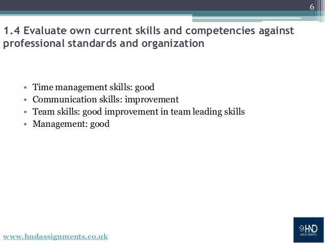 evaluate own current skills and competencies Self evaluation and development plan self evaluation and to do as i had to consider my own attributes, skills and competencies to be a successful.