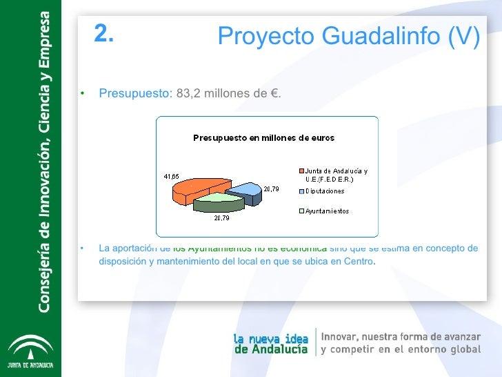 <ul><li>Presupuesto:  83,2 millones de  €. </li></ul><ul><li>La aportación de  los Ayuntamientos no es económica  sino que...