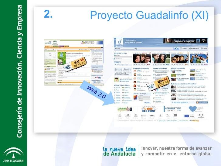 Web 2.0 2. Proyecto Guadalinfo (XI)