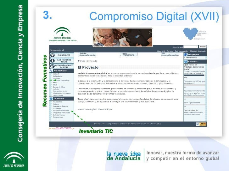 Recursos  Formativos Inventario TIC 3. Compromiso Digital (XVII)