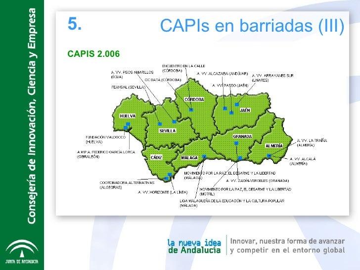 5. CAPIs en barriadas (III) CAPIS 2.006
