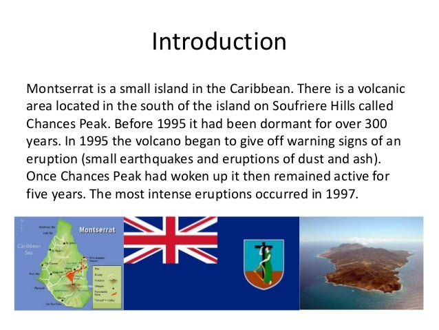 an introduction to the volcanic eruptions in caribbean A new database of volcanic fatalities is  volcanic eruptions and their magnitudes are  of pelée and soufrière st vincent in the eastern caribbean.