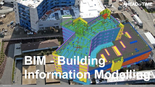 © 2016 Ahead of Time GmbHAhead of Time 77 BIM - Building Information Modelling
