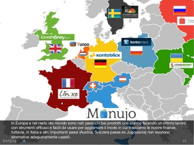 COMPETITOR                  In Europa esistono altre realtà simili a Monujo per il PFM ma in Italia                  non e...