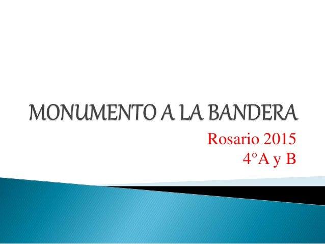 Rosario 2015 4°A y B