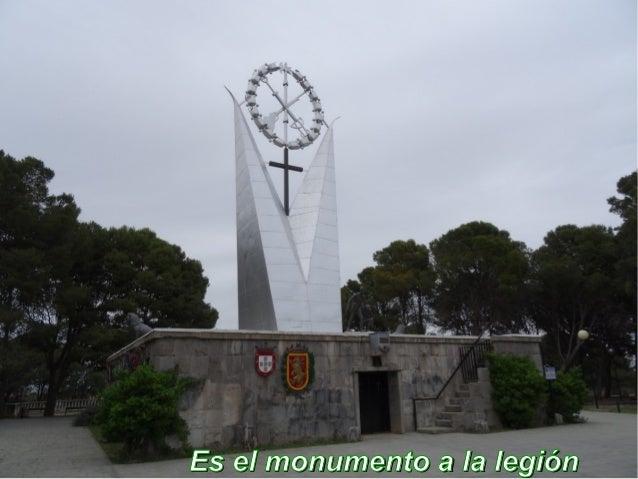 Es el monumento a la legiónEs el monumento a la legión