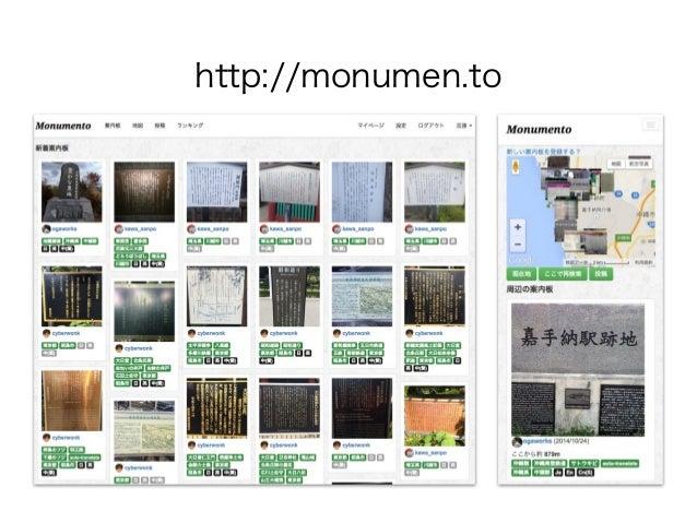 Monumento プレゼンテーション資料 Slide 3