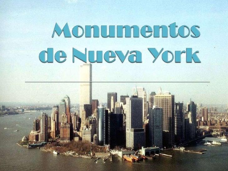 Monumentos de Nueva York<br />