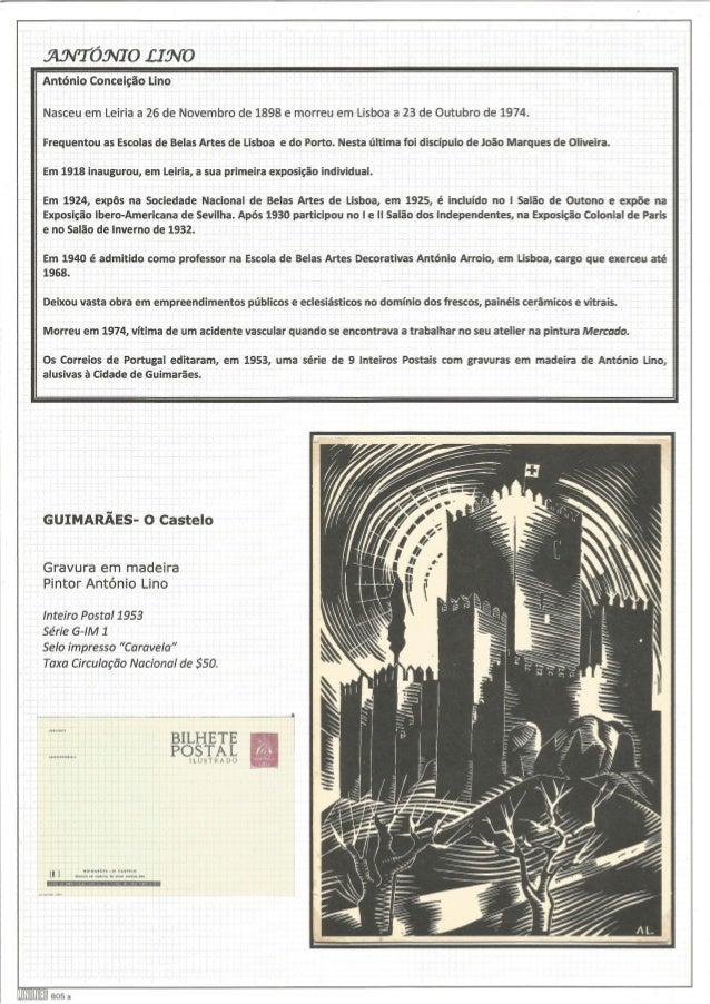 nox/ Tomo . cravo  António Conceição Lino  Nasceu em Leiria a 26 de Novembro de 1898 e morreu em Lisboa a 23 de Outubro de...