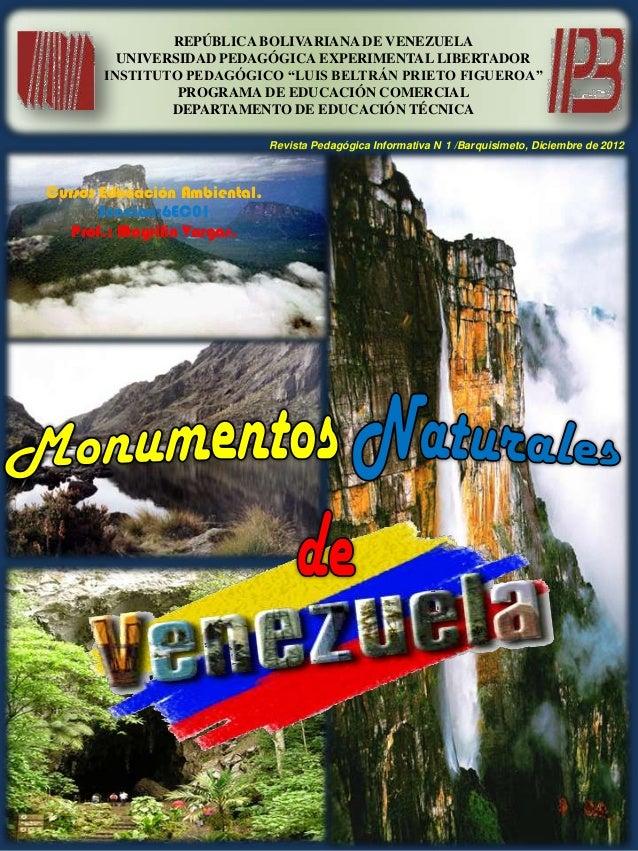 "REPÚBLICA BOLIVARIANA DE VENEZUELA         UNIVERSIDAD PEDAGÓGICA EXPERIMENTAL LIBERTADOR       INSTITUTO PEDAGÓGICO ""LUIS..."