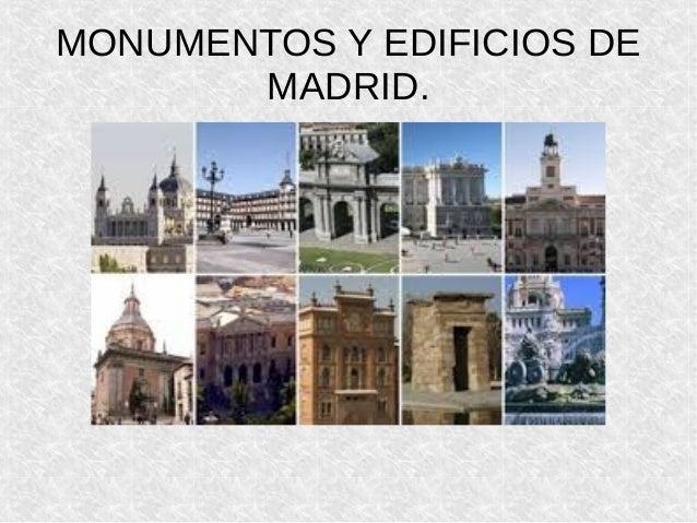 monumentos y edificios de madrid