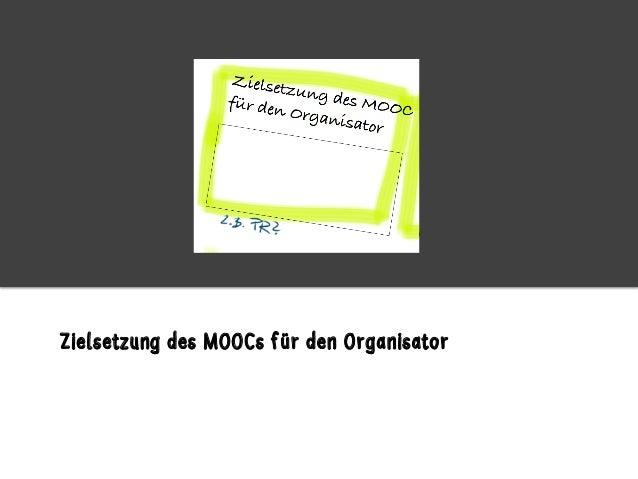 """How to MOOC"" - Planung eines MOOCs Slide 3"