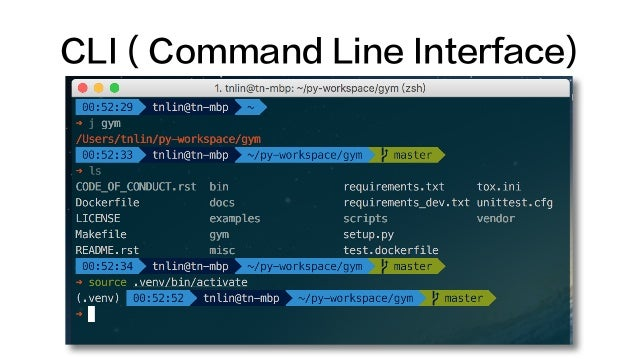 CLI ( Command Line Interface)