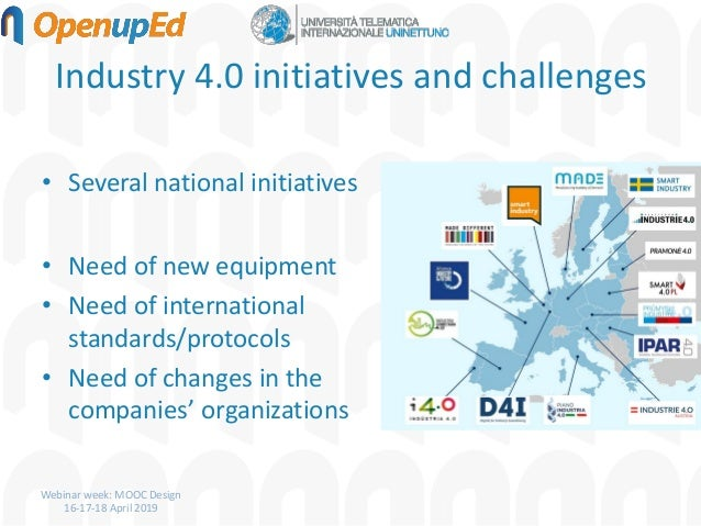 MOOCs for digital skills:smart education experiences in the context of Industry 4.0 Slide 3