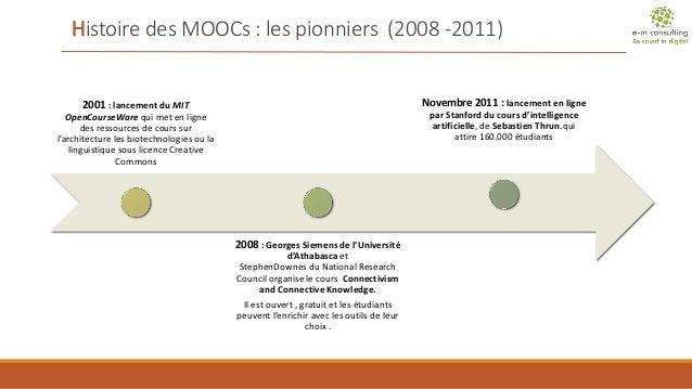 Marché des MOOCs académiques français (1 semestre 2014) Slide 3