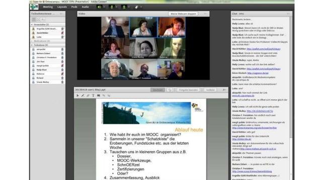 Mitnutzung  • Der MOOC wird als ergänzendes  Lehrmittel einer Lehrveranstaltung oder  einer EB-Veranstaltung eingesetzt, a...