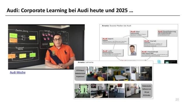 20 Audi-Woche Audi: Corporate Learning bei Audi heute und 2025 …